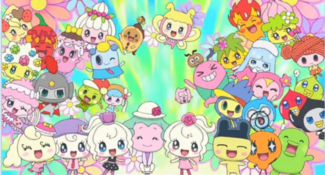 Miracle Friends Characer Slider