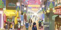 Usagiyama Shopping District