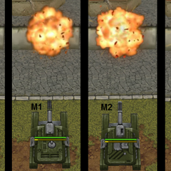 The explosion caused by the different versions of Thunder