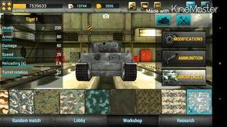 Tanktastic -- Tiger 1-Elderby