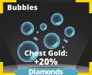 Bubbles Effect Icon