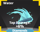 Water slash effect