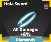 Hola sword