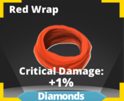 Red Wrap