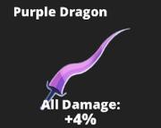 Purple sword