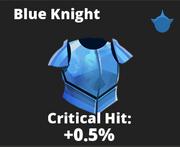 Blue Knight Icon
