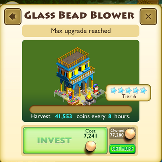 Glass bead blower
