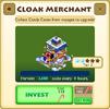 Cloak Merchant Tier 3