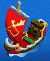 Santa's Sailboat - Stage 1