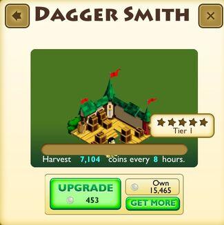 Dagger Smith Faceplate