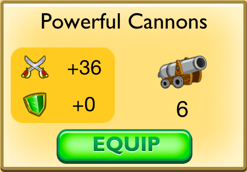 Powerful Cannons