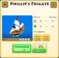 Cpt. Phillip's Frigate Tier 4