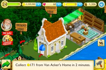 Van acker's home