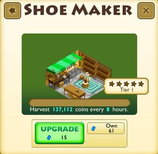 Shoe Maker Faceplate