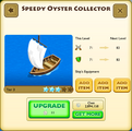 Speedy Oyster Collector Tier 3