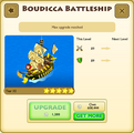 Boudicca Battleship Tier 10