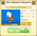 Cpt. Phillip's Frigate Tier 3