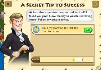 A Secret tip to seccess