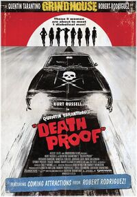 Death Proof Dutch theatrical poster