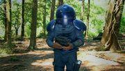 Kaagh with his helmet on