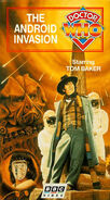 The Android Invasion VHS US cover