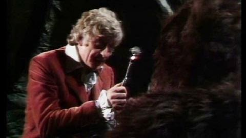 The Doctor Hypnotises Aggedor - The Curse of Peladon - Doctor Who - BBC