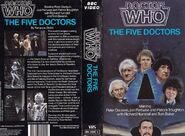 The Five Doctors VHS Australian folded out cover