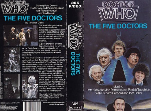 File:The Five Doctors VHS Australian folded out cover.jpg