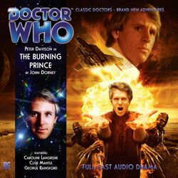 Burning Prince, The cover