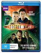 The Waters of Mars Blu-ray Australian cover