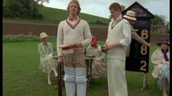 The Doctor Plays Cricket - Black Orchid - Doctor Who - BBC