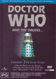 Doctor Who and the Daleks Australian DVD Region 4 2001