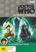 The Deadly Assassin DVD Australian cover