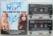 The Land of the Dead cassette cover with cassettes