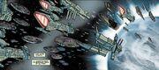 Spaceships in Nomicae's orbit