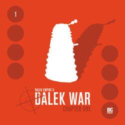 Dalek War CH1 cover