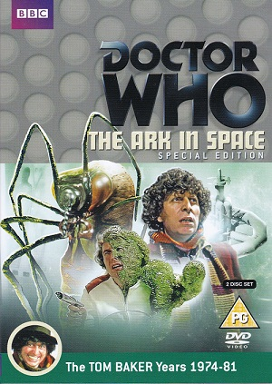 Picture of BBCDVD 3672 Doctor Who - The ark in space (Special edition) by artist Robert Holmes / John Lucarotti from the BBC dvds - Records and Tapes library