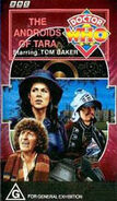 The Androids of Tara VHS Australian cover