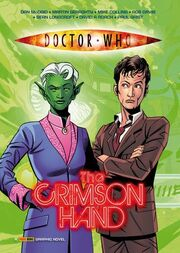 Crimson hand graphic novel