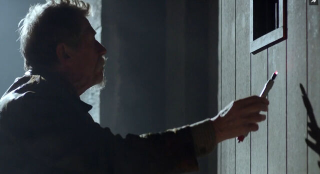 File:War Doctor scanning door.jpg