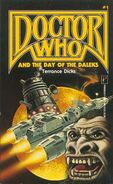 Doctor Who and the Day of the Daleks 1989 Pinnacle edition