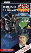 Doctor Who and the Silurians VHS UK cover