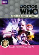 Terror of the Autons Australian DVD cover