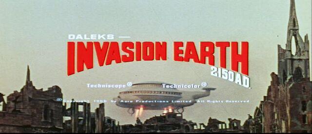 File:Daleks - Invasion Earth 2150 A.D. trailer title.jpg