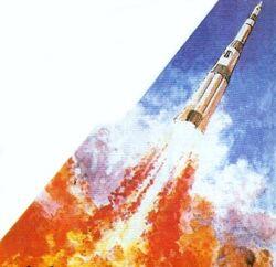 Gemini Plan Rocket