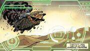 Four Doctors Dalek ship on Maranus