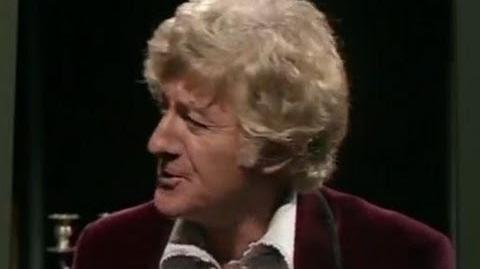 Exclusive first look The Third Doctor and Wine - Doctor Who Day of the Daleks - BBC