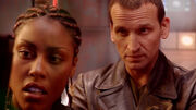 Ninth Doctor something wrong with the heating The Long Game