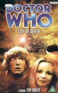 City of Death VHS UK rerelease cover