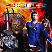 2009 Doctor Who Calendar